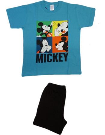 Πυζάμα αγοριών Disney Mickey comics Minerva (61264) Τυρκουάζ 5206821697459 c9ea8c16e44