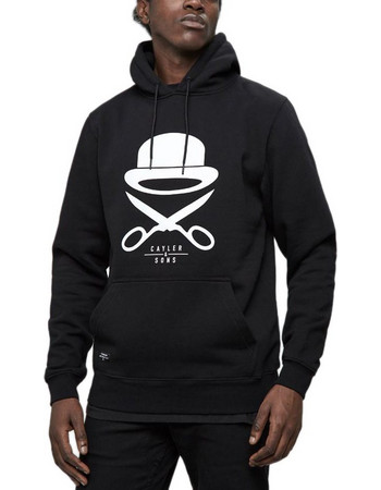 10ceabd1c6cf CAYLER   SONS PA ICON HOODY BLACK WHITE CSPA-SS18-AP-01