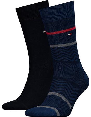 Κάλτσες 2 ζευγάρια Heringbone Tommy Hilfiger 482023001 - μπλε 9083b7f3676