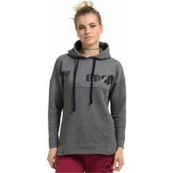 Γυναικείο φούτερ Dansports 11097 (Ανθρακί και Άσπρο) 3c17773cd36