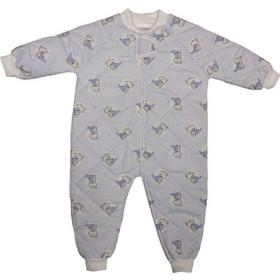 Υπνόσακος παιδικός με πόδια BABY STAR 7900-32 σιέλ αρκουδάκι κουβέρτα No 1-5 e274ffc7f34