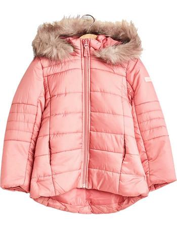 Esprit παιδικό μπουφάν καπιτονέ με αφαιρούμενη κουκούλα - RM4201307 - Ροζ 59beb8a20db