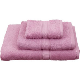 3a10139b314 Πετσέτα Λαβέτα Classic Towels Solid Pink Cotton Viopros (30x30) 1Τεμ