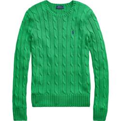 77857a31d66c Polo Ralph Lauren γυναικεία πλεκτή μπλούζα με σχέδιο πλεξούδες Cable-Knit -  211580009065 - Πράσινο