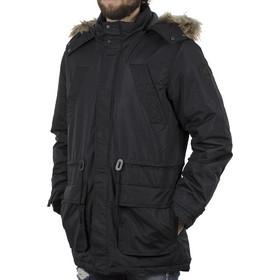 17c07359caf1 Ανδρικό Μακρύ Μπουφάν Parka Jacket με Κουκούλα ICE TECH C17 Μαύρο