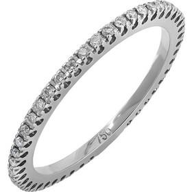 Ολόβερο δαχτυλίδι λευκόχρυσο Κ18 029247 029247 Χρυσός 18 Καράτια 0ee0d137fca