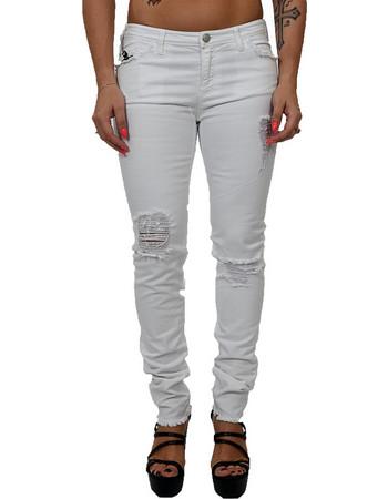 1660fc0e14a λευκο παντελονι γυναικειο - Γυναικεία Παντελόνια Emporio Armani ...