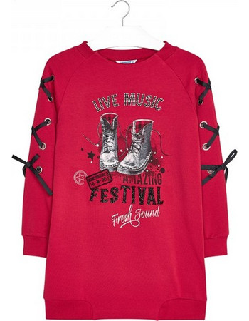 Παιδικό Φόρεμα Mayoral 18-07958-093 Κόκκινο Κορίτσι 765d347fa9f