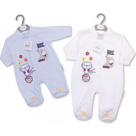 ce0c7590bfe Φορμάκι βελούδο της Nursery time 0311 αγόρι nursery time