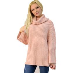 790178060860 Γυναικεία πλεκτή μπλούζα ζιβάγκο oversized