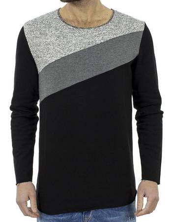 7c366004f2dc μπλουζες ανδρικες μακρυμανικες μαυρες - Ανδρικά T-Shirts