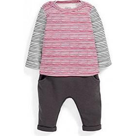 Mamas And Papas Βαμβακερό Set 6 - 9 Μηνών S42LAQ4B5 - Grey Red Stripes 59f7bf6594f