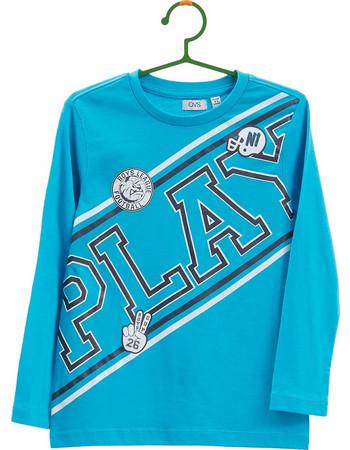 b59502f50da3 OVS γαλάζια παιδική μπλούζα με μεγάλο print Play - 000286860 - Γαλάζιο