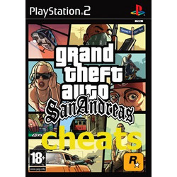 GTA San Adreas Cheat CD PS2 NEW PS2