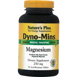 Nature's Plus Dyno-Mins Magnesium 250mg 90s