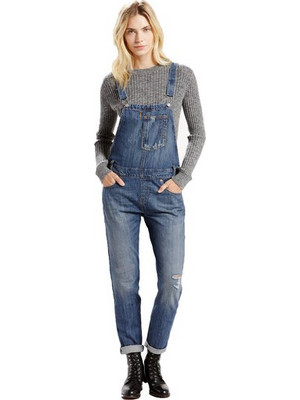 LEVI'S Heritage Overalls - Gold Rush Blue