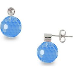 Σκουλαρίκια με μπλε τοπάζι- S121458BT a4bedd2f610