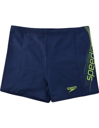 Speedo Sports Logo Panel Aquashort 09530-B751J 7690e3cfe30