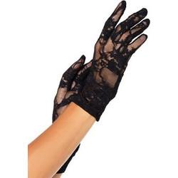 Stretch Lace Wrist Gloves ec7a07cf431