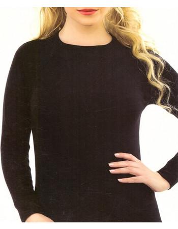 4b556089fe Γυναικεία ισοθερμική μπλούζα μακρύ μανίκι 4070 - ΜΑΥΡΟ