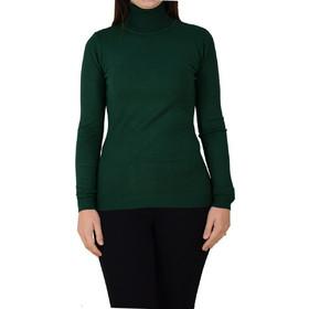 7d7de93467d7 Γυναικεία Πλεκτή Μπλούζα Με Ζιβάγκο 3009-MX Πράσινη Κυπαρισί 3009-mx prasino