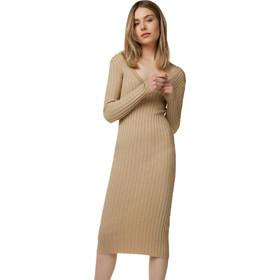 829a648483e1 Πλεκτό φόρεμα ριπ - ΚΑΜΗΛΟ