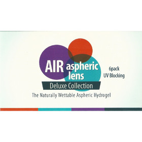 65f1b3fe2b AIR ASPHERIC LENS 55% 6pack Μυωπίας - Υπερμετρωπίας Μηνιαίοι Φακοί Επαφής