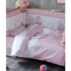 f16198a2ff8 Σεντόνια κούνιας Sweet baby 14 Kentia 000045713 - ροζ