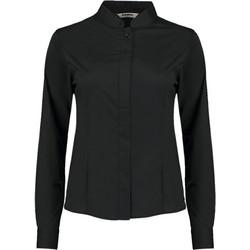 940b01fd20d5 Γυναικείο πουκάμισο με μάο γιακά Bargear Bargear KK740 - Black
