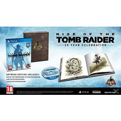 Rise of The Tomb Raider 20 Year Celebration Artbook Edition - PS4