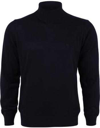 Ανδρική Πλεκτή Μπλούζα Λουπέτο Atter Unique - DARKBLUE 4438aa72a99