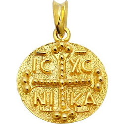 Χρυσό Φυλαχτό Κωνσταντινάτο Κ14 - 01-16663 8b8f9ee312f