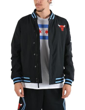 Nike NBA Chicago Bulls Courtside  City Edition  Jacket - Ανδρική Ζακέτα  AH5272-010 4d74e954208
