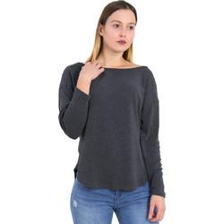 626a9dd3dda8 Γυναικεία γκρι μπλούζα χιαστί πλάτη Cocktail 014101032T