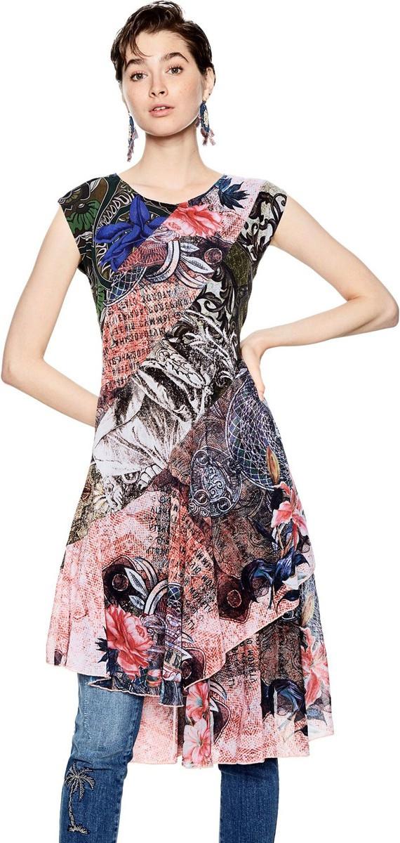 καλοκαιρινα φορεματα - Φορέματα Desigual  9dc28b3e48d