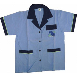fd2af2549a19 Πουκάμισο Ποδιά Μπλούζα Εργασίας Feg με Κουμπιά Τσέπες Γιακά S   M