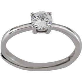 Δαχτυλίδι μονόπετρο Latla ασημί 925 με ζιργκόν 5 χιλιοστά 82cac271fcf