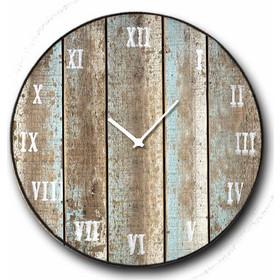 Deck - Ρολόι τοίχου Ξύλινο Χειροποίητο Στρογγυλό 48cm F4816 a5a531c8541