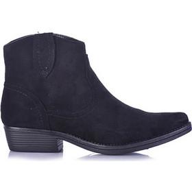 bb852d954ed Μποτάκια μαύρα σουέτ μυτερά 3816189bl. Tsoukalas Shoes