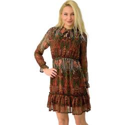 fe3ba2a9f7cd Γυναικείο αέρινο φόρεμα εμπριμέ