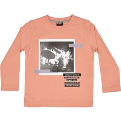 9e4905bbc755 Funky 118-306102-2 Μπλουζάκι μακρυμάνικο Σομόν For Funky Kids