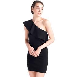 38b8b3fde53 Mini φόρεμα με έναν ώμο - Μαύρο