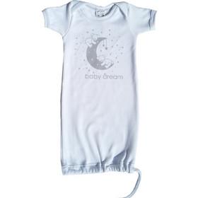 Φορμάκι - Φαντασματάκι Baby Dream λευκό γκρι sweet dreams (κοντό μανίκι)(0 6fdaa8c9277