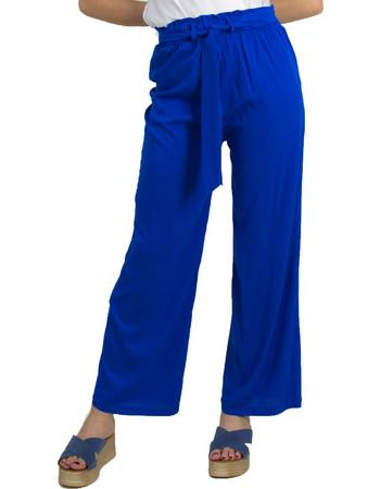 Γυναικεία υφασμάτινη παντελόνα Benissimo ρουά καμπάνα 41883D 04becfdefe4