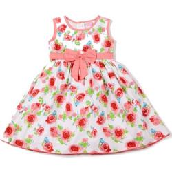 Παιδικό φόρεμα λευκό φλοράλ Sweet Elegance 1c43040b5da