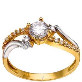 Μονόπετρο χρυσό δαχτυλίδι 14καρατίων DX134BAR9 8d78ebda53f