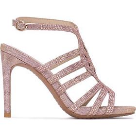 Πέδιλα High Heels γυναικεία Collection by classico Ροζ V17097 c5ce2b9533d