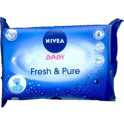 Nivea Baby Fresh & Pure 63τμχ