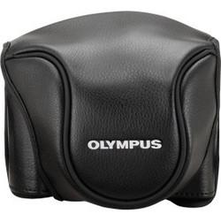 e238e7ab162 Olympus CSCH-118 Leather Bag black for Stylus 1