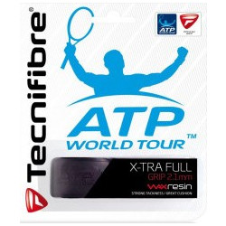Tecnifibre X-tra Full Replacement Grip-Black